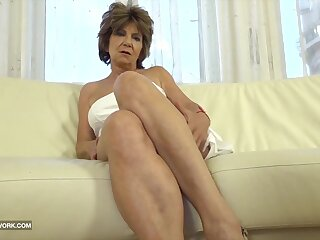 Granny has sex with black man and enjoys ass drilling fuck