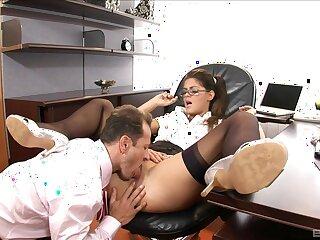 Secretary pleases horny boss with premium anal sex