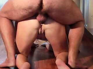 Man fuck Russian mature in ass and amazing finish