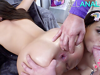 ALL ANAL Gia and Violet are conclusive buttsluts