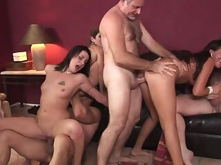 Lacey Luv &  Richelle Ryan &  Leah Luv &  Felony & in Orgy Sexual intercourse Parties #2