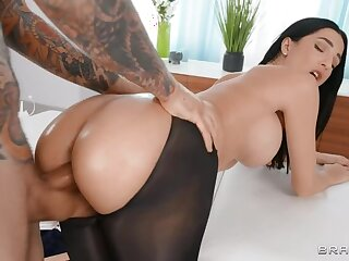 BRAZZERS: Sheer Massage Presented by Azul Hermosa greater than PornHD