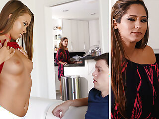 Stepmom help a youthfull a handful of with very first fuckfest